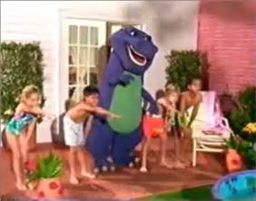 barney the purple dinosaur images barney and the backyard