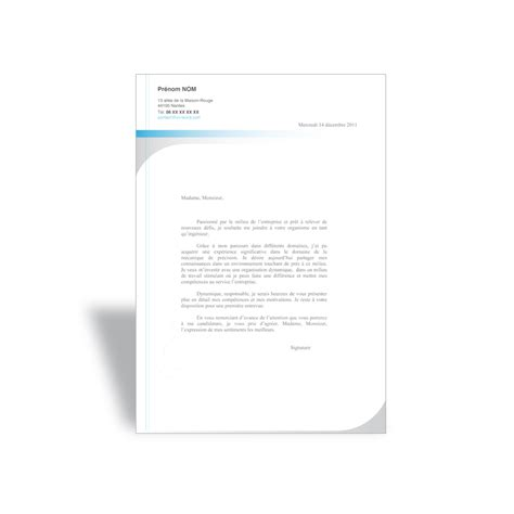 Lettre De Motivation Emploi Word Mod 232 Le Lettre De Motivation Ingenieur Cv Word