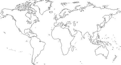 imagenes del mapamundi en blanco y negro mapamundi para colorear
