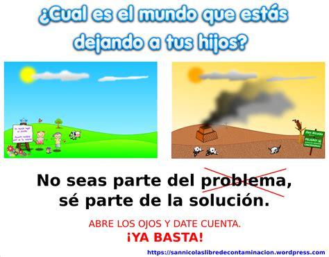 cartel de contaminacion san nicol 225 s libre de contaminaci 243 n