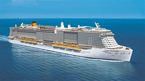 boat show europe 2019 meet the largest ever costa cruise ship arriving in 2019