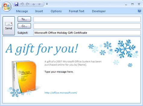 microsoft office gift certificate template templates certificates e mail message microsoft office