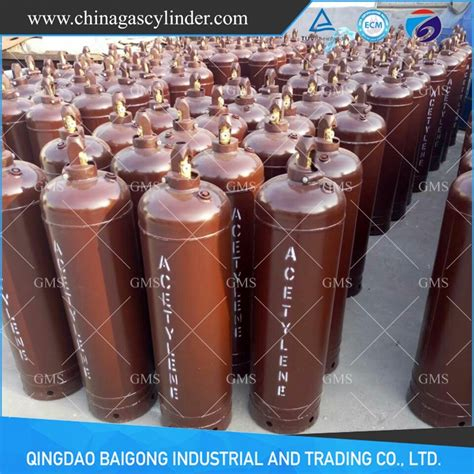 dissolved acetylene cylinder china gas cylinders for sale from qingdao baigong industrial and dissolved acetylene cylinder