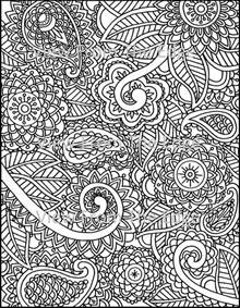 henna coloring pages mehndi coloring page henna printable pdf original
