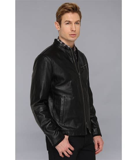 Frozenshop Jaket Parka Cool In Canvas Black varvatos moto jacket w canvas details in black for lyst