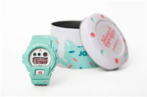 G Shock X Johnny Cupcakes unveiling the johnny cupcakes x g shock gdx6900jc 3d