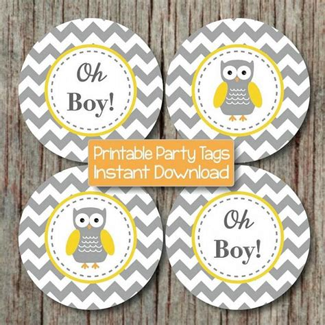 Yellow And Grey Owl Baby Shower by Yellow Grey Chevron Owl Baby Shower Bumpandbeyonddesigns