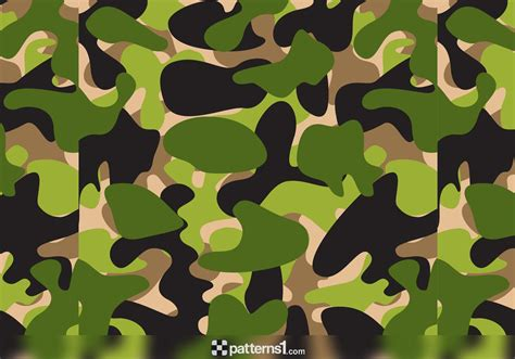 camo pattern logo army camouflage background clipart 19