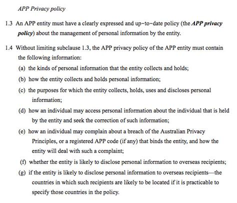 privacy policy template australia free privacy policies are legally required privacypolicies
