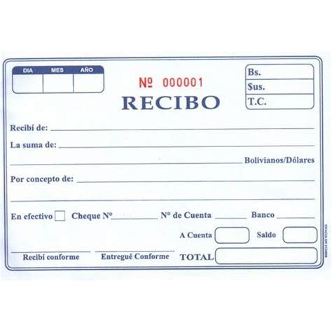 cmo puedo imprimir un recibo de pago en la plataforma del el recibo es un documento que acredita o certifica el pago