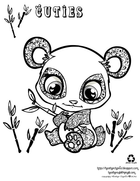 Heather Chavez Panda Coloring Page Caam Target Sudays Panda Coloring Pages