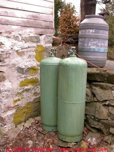 Plumbing Propane Gas Lines by Propane Lp Gas Tank Install Fill Safety Observations Gas Tank Safety Recommendations