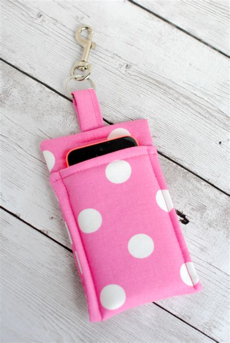 simple diy phone wallet allfreesewingcom