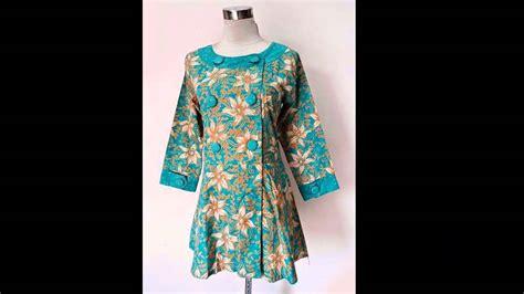 Blouse Kerja Batik blouse batik plum model baju kerja