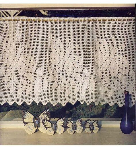 cortinas de croche  salas  cozinhas fotos  modelos