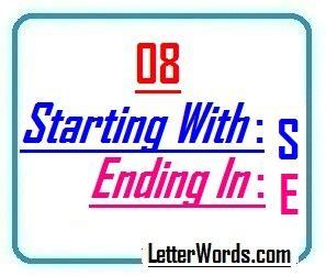 8 Letter Words Ending In I