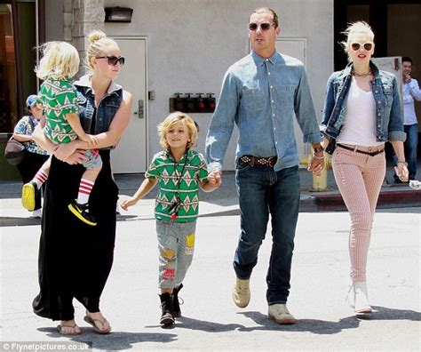 gwen stefani gavin rossdales former nanny is pregnant gavin rossdale emerges with new childminder on outing with