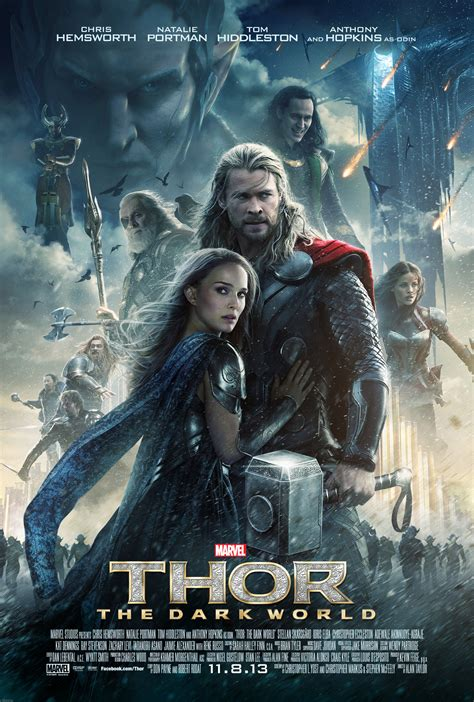 thor film poster thor the dark world review thor 2 stars chris hemsworth