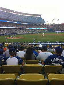 section 10fd dodger stadium dodger stadium section 16fd row p seat 7 los angeles