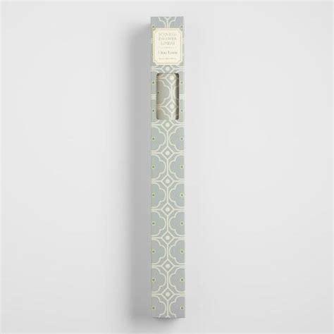 clean linen scented drawer liner paper 6 pack world market
