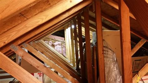 Garage Attic Trusses by Reinforcing Garage Attic Trusses For Storage Area