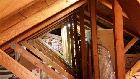 reinforcing garage attic trusses  storage area