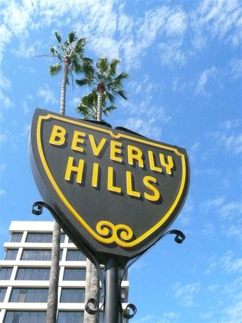 beverly hills sign panoramio photo of beverly hills road sign