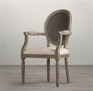vintage back fabric armchair