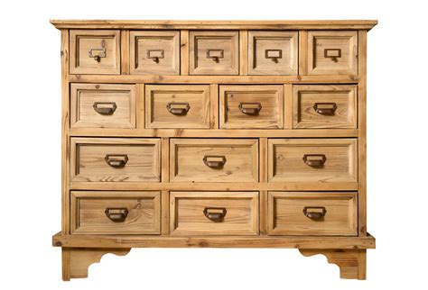 apothecary dresser wood apothecary chest with 15 drawers omero home