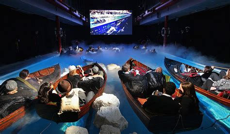 Watch High Lane 2009 Eyewitness 17 02 09 Barbican London Film Fans Watch Titanic In London Swimming Pool Film