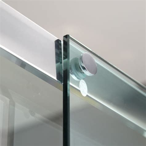 sliding shower door track aquafloe 8mm 1500 sliding shower door