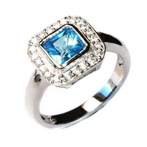 promise rings princess cut aquamarine blue promise ring beautiful promise rings