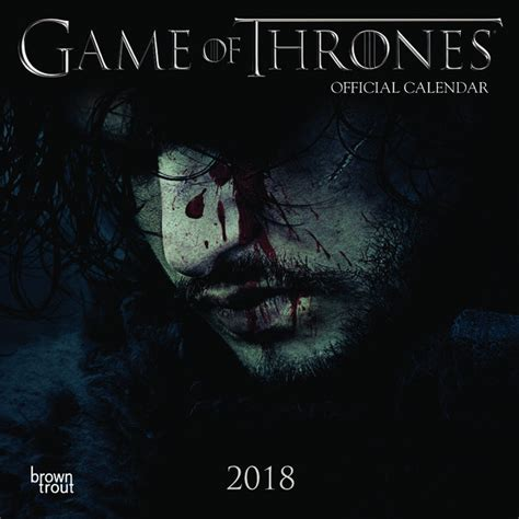 when of thrones 2018 mini calendrier 2018 of throne