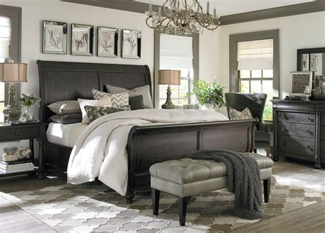 bassett furniture bedroom emporium sleigh bed by bassett furniture contemporary