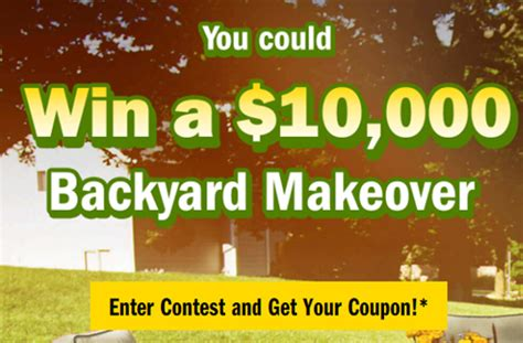 win a backyard makeover cheestrings win a backyard makeover contest deals from