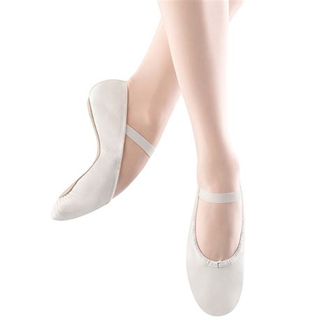 ballet slippers for bloch dansoft child s ballet slippers white