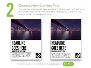Small Business Flyer Template by 13 Best Business Flyers To Grow Your Small Business