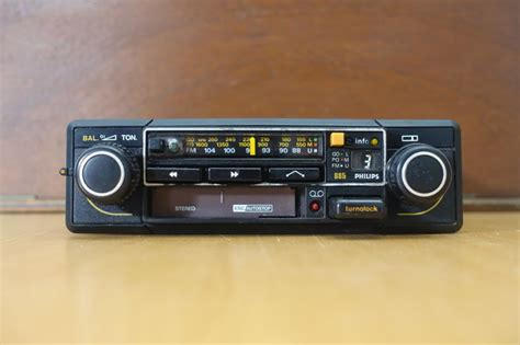 classic philips car radio cassette player stereo