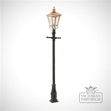 copper l post lantern l post style 3 and copper square lantern l posts