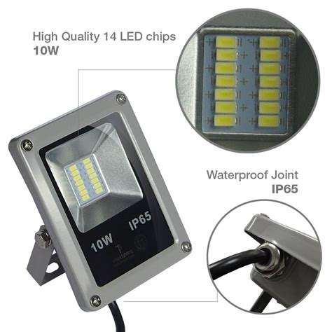 Best Led Outdoor Lights Best Quality10w Led Flood Light Outdoor Landscape L Waterproof Spotlight Ebay