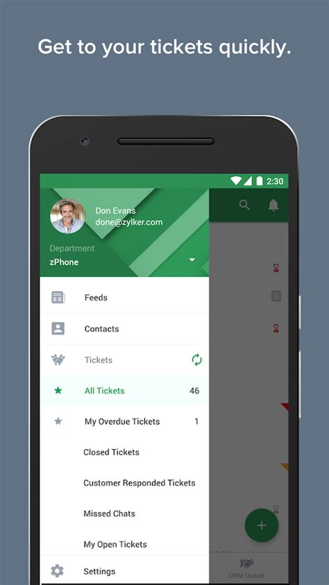zoho desk customer portal zoho desk android apps on google play