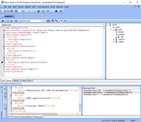 xml editor new features in stylus studio stylus studio xslt back mapping stylus studio blog