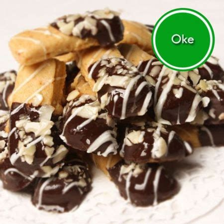 Coklat Alfredo Almond Green Tea kue kering ina cookies kue kering ina cookies harga reseller