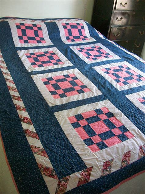 How To Quilt Patchwork - how to back a patchwork quilt ebay