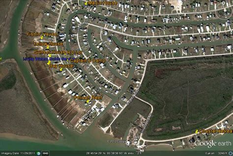 sargent texas map home page for caney y adventures and capt gene allen living waters guide service