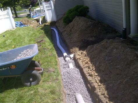 drainage solutions tgg landscape construction