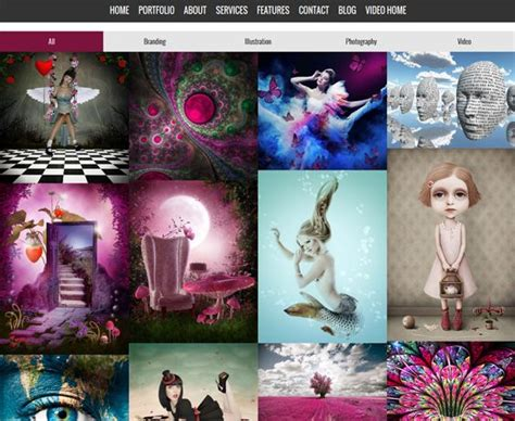 theme drupal masonry 9 best 9 of the best one page drupal themes images on