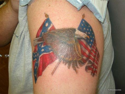 tattoo eagle and flag flag tattoos and designs page 6