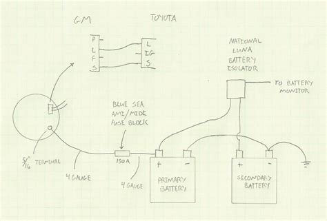 wiring diagram for gm alternators high output gm coil pack