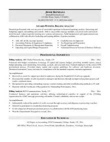 billing and coding cover letter billing resumes sles jianbochen